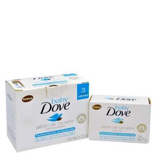 Dove Jab Bar Tripack Baby Humect con 225 g